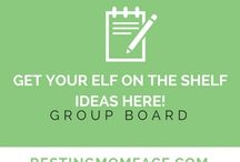 Get your Elf on The Shelf Ideas Here! - Group Board / Is your November spent planning out all your Elf On The Shelf Activities for December?  Look no futher.  This board contains enough Elf on the Shelf Ideas to last you through your children's childhood!  Got an idea?  Post It Here!  Visit http://restingmomface.com/join-pinterest-group-boards/ to be added to this board!