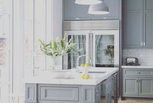 Heart Of The Home / Gorgeous French Country and Hamptons kitchens as inspiration for the serious cook or for those who just love to whip up the odd feast for family and friends.