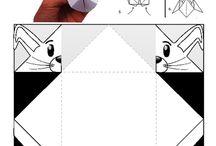 hajtogatás  origami