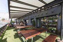 Terrazas y restaurantes chic