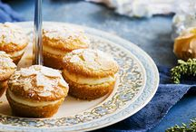 lemon and almond mini pies