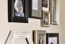 Gallery Walls! / Inspirational gallery walls for every room in your home!