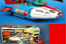Nomura TN Japan Tin & Space Toys / Nomura Made in Japan - TN Brand Mark in a Diamond