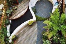Дизайн небольшого двора