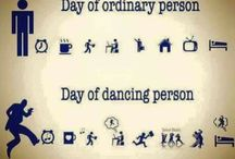 Slogans for dance