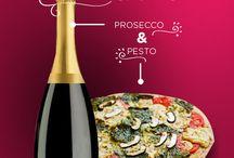Antojos de pizza y vino / ¿Hawaiana? ¿Peperoni? Con vino tinto, blanco, rosado!  El punto es disfrutar de un buen vino y la mejor de las pláticas!
