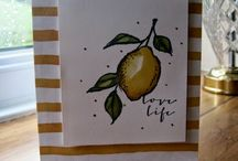 A Happy Thing Card Ideas / by Laurie Graham: Avon Rep/Stampin' Up! Demo