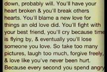 quotes. / by Bridget Lustig