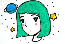 Zeichnungen :) / Alles mögliche an Kritzeleien und Zeichnungen