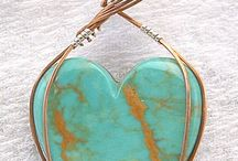 Wire wrap stones / Wire wrap everything,and silver work, to Jewelry Making. / by Kathy