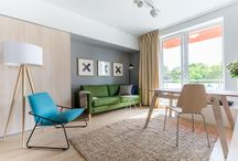 Apartament cu 3 camere luminos / Când te gândești la procesul de amenajare al apartamentului cu două dormitoare din THE PARK îți vin în minte trei cuvinte: original, ingenios și funcțional. Îți dorești o ambianță care să te încarce cu bună dispoziție încă de la primele ore ale dimineții.  Acesta a fost și unul dintre elementele importante de care arhitecții Attila Kim, Bogdan Ciocodeică și Diana Roșu au ținut cont atunci când au creionat conceptul amenajării unui apartament cu două dormitoare din THE PARK.