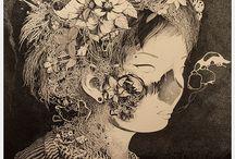 Ink drawings of Benze / Ink drawings of Benze