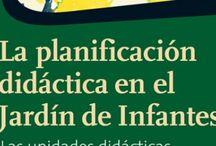 PLANIFICACIÓN EN EL NIVEL INICIAL / Bibliografía sobre planificación didáctica en el Nivel Inicial.