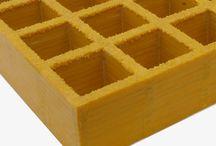 Fiberglass Grating / Fiberglass Grating for Floor, Platform, Factory, Swimming Pool, Tree Cover