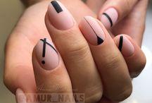 nails geometric