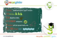 recycling infographics