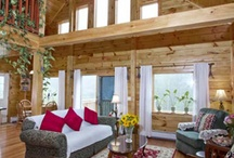 Our Coventry Log Home Ideas / by Liz Walton