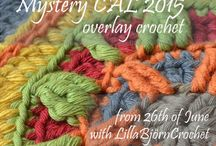 Lilla Björn Crochet, Circles of the Sun, Mystery Cal 2015, overlay crochet