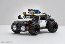 LEGO járgányok
