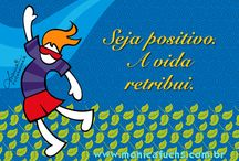 Frases Ilustradas by Mônica Fuchshuber / Frases ilustradas pela designer Mônica Fuchshuber/ / Illustrated phrases by Monica Fuchshuber