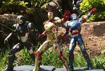 Linha Marvel Iron Studios 2014 / Loja Mundo Geek - Linha Marvel Iron Studios 2014