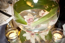 Centrepieces / Some of the centrepieces that we offer or love at Chateau Wyuna