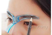 Eye brow stencil