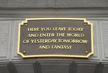 "Today's Disney Magic / ""Here you leave today and enter the world of yesterday, tomorrow, and fantasy."" / by Disney"