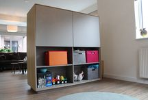 Roomdivider / Roomdivider TV meubel