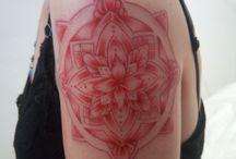 manadala sepia tattoo tatouage