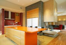 Kitchen Colors - Decor and Design / Colored Tips for boring Kitchen spaces.