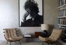 Galeriewände und Bilder