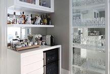 barzinho na cozinha