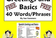 Bilingual Resources / Dual Language Classroom, English and Spanish curriculum resources. Worksheet, activities etc.