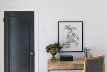 Modern minimalist country decor