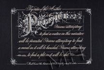 Calligraphic Literature / Maria Helena, New Orleans Calligraphy Art