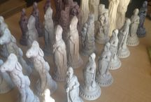 RockingTheAgesOfArt Chess sets / Orders to mandy.delport@icloud.com