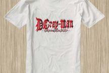 Dgrayman Anime Tshirt
