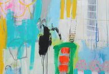 Malerier / Abstrakt kunst