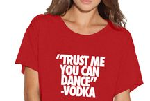 T-shirt with funny quotes