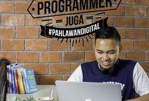 Promo #PahlawanDigital : Hosting Unlimited + Domain .COM + Website Gratis