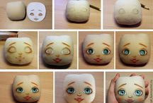 paint  doll's face