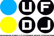 2014 Ukrainian DJ & Electronic Music Federation / Ukrainian DJ & Electronic Music Federation branding