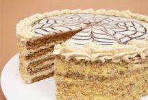 Torták, krémes sütemények
