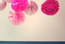 Pink and blue / Baptême fille et Garcon