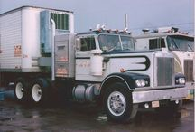 Classic Semi Trucks / We love those classic big rigs: the Peterbilt 379, Peterbilt 359, Kenworth W900A, B-Model Macks.... are just a few of the all-time favorite classics,. / by Smart Trucking