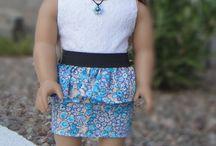 American Girl stufff / American girl doll girl