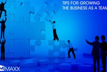 Tips for growing the business as a team / - One of the most powerful elements in achieving success in business is a successful team. - Without teamwork, workplace becomes common with negativity, under performance, which directly reflects in project results....http://maxxerp.blogspot.in/2014/01/tips-for-growing-business-as-team-one.html