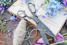 NATURE FLORA / Blues, Greens, Lilacs, Purples, Magentas