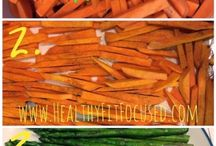 21 day fix sides / by Jacqueline Montano